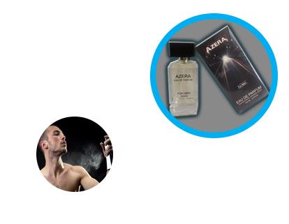 خرید پستی ادکلن مردانه AZERA  ادکلنی کلاسیک