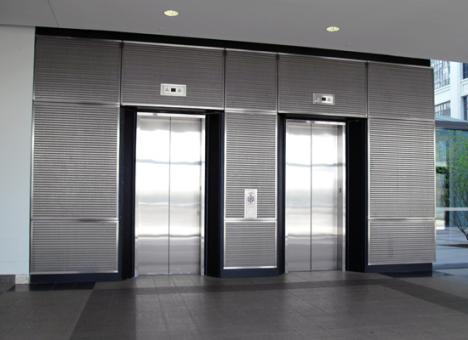 درب تمام اتماتیک آسانسور