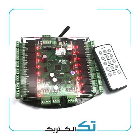 اس ام اس کنترل 16 خروجی ZC16