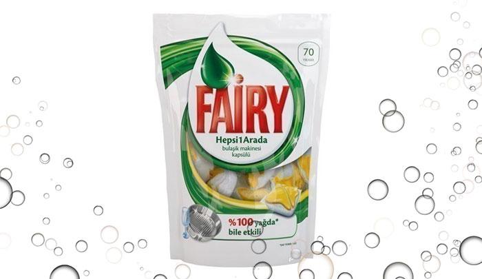 قرص ماشین ظرفشویی فیری ترکیه 70 عددی - Fairy