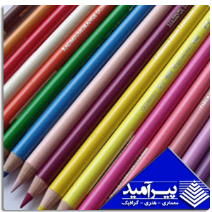 مداد پلي كروم تك رنگ فابر