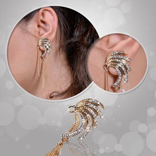 گوشواره لاله گوش فشن