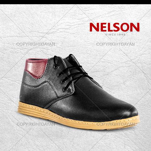 نیم بوت پسرانه Nelson سیاه