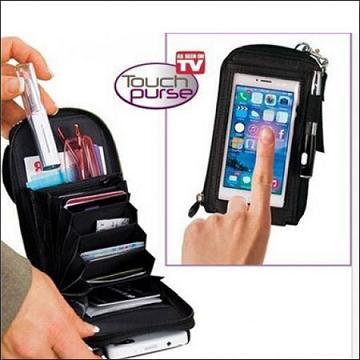 کیف پول و گوشی و موبایل لمسی تاچ پرس - Touch Purse
