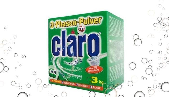 پودر ظرفشویی 3 کیلویی کلارو - Claro
