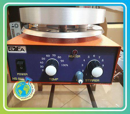 هات پلیت استیرر مدل alfa HS860