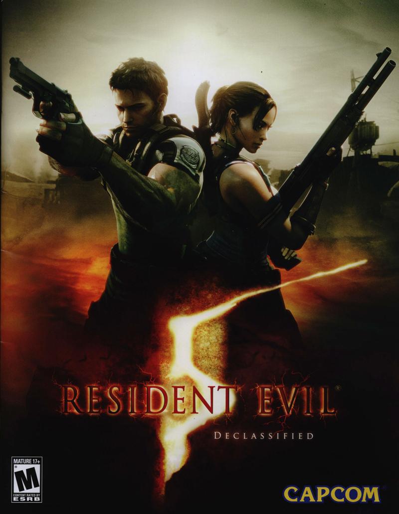 resident evil 5((تکی4000تومان عمده2000تومان(هر5عدد) ))