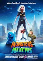 Monsters vs Aliens – هیولاها در برابر بیگانه ها (2009)