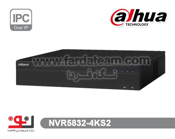 دستگاه NVR داهوا 32 کانال  NVR5832-4KS2