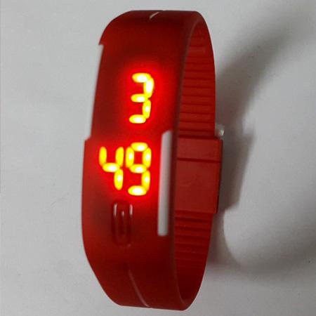 ساعت دستبندي تاچ اسكرين LED