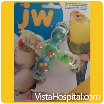 اسباب بازی مخصوص پرندگان