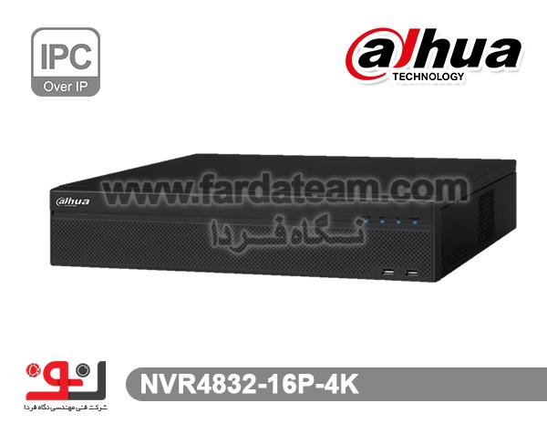 دستگاه NVR داهوا 32 کانال  NVR4832-16P-4k