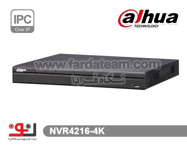 دستگاه NVR داهوا16  کانال  NVR4216-4K