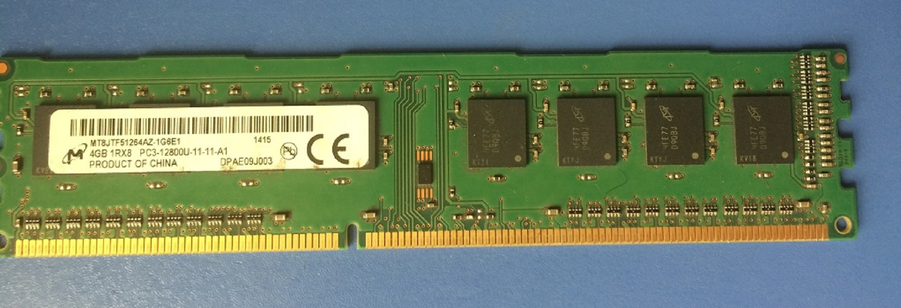 RAM 4GB DDR3 1600 M2