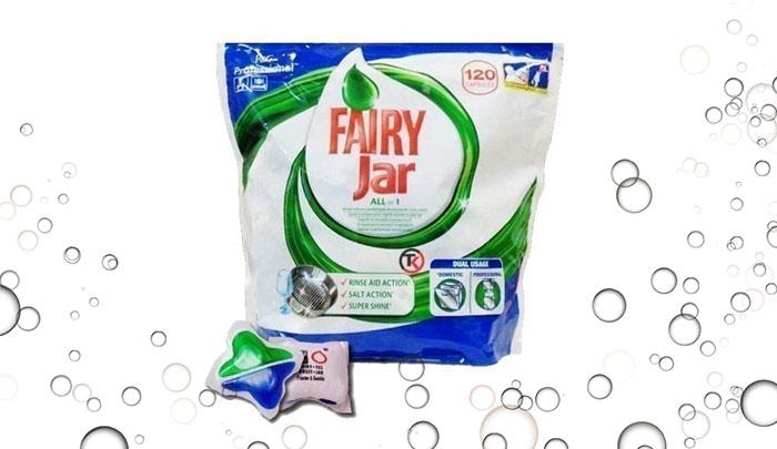 قرص ماشین ظرفشویی فیری ترکیه Fairy - Jar