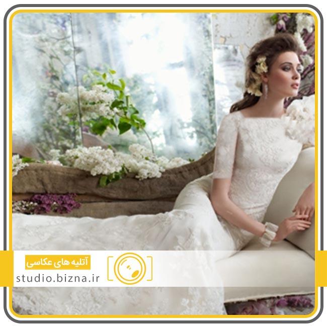 تاریخچه ی لباس عروس سفید