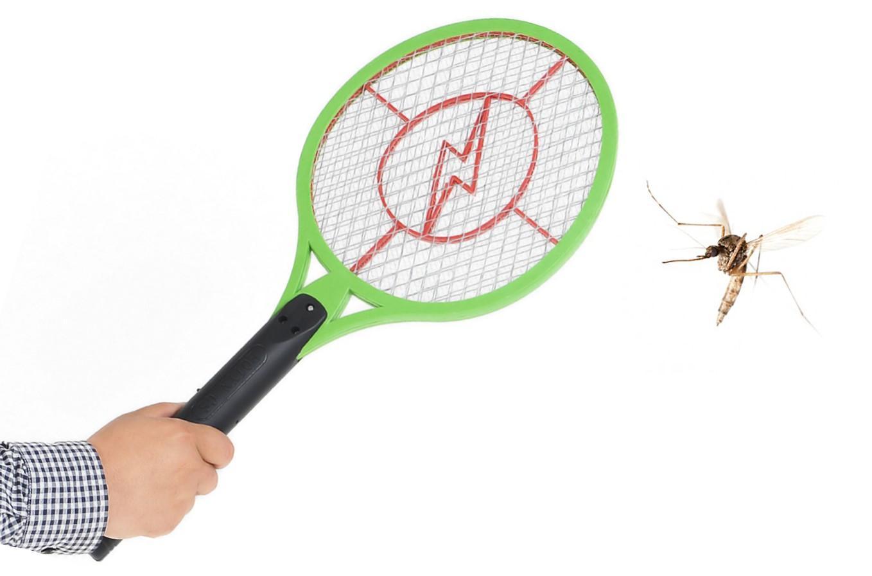 حشره کش طرح راکت تنیس