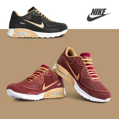 کفش Nike مدل Odek(جگری،مشکی)