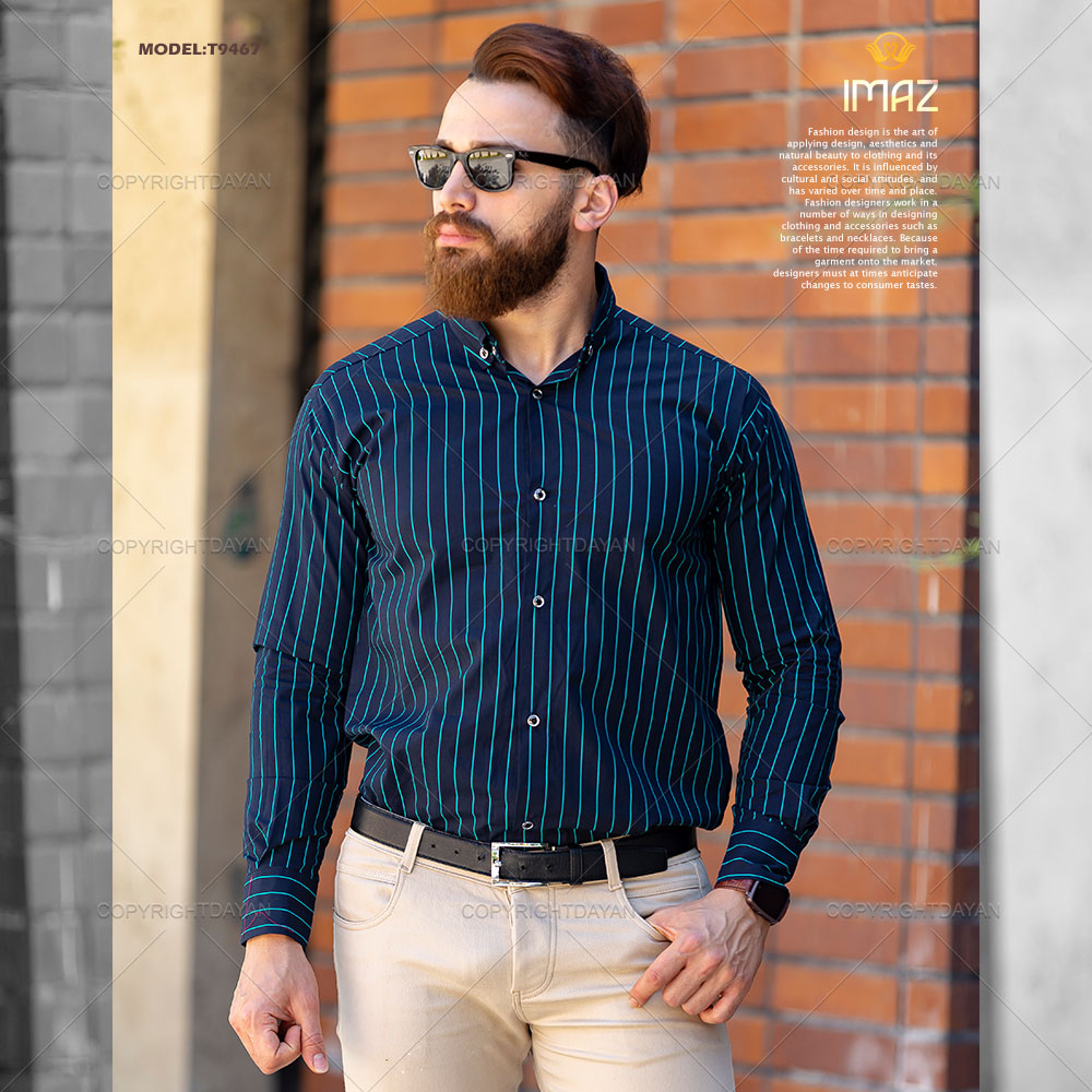 پیراهن مردانه خنک و نخ پنبه