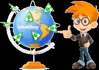 کسب درآمد از دانلود و آپلود فایل در سایت uploadboy