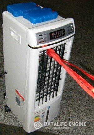 بخاری برقی فن دار