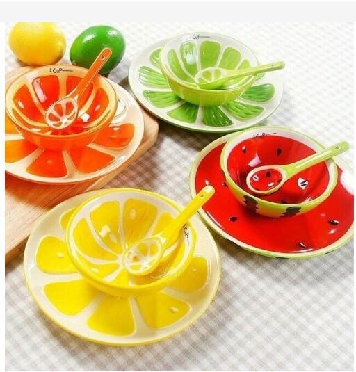 فنجان طرح میوه