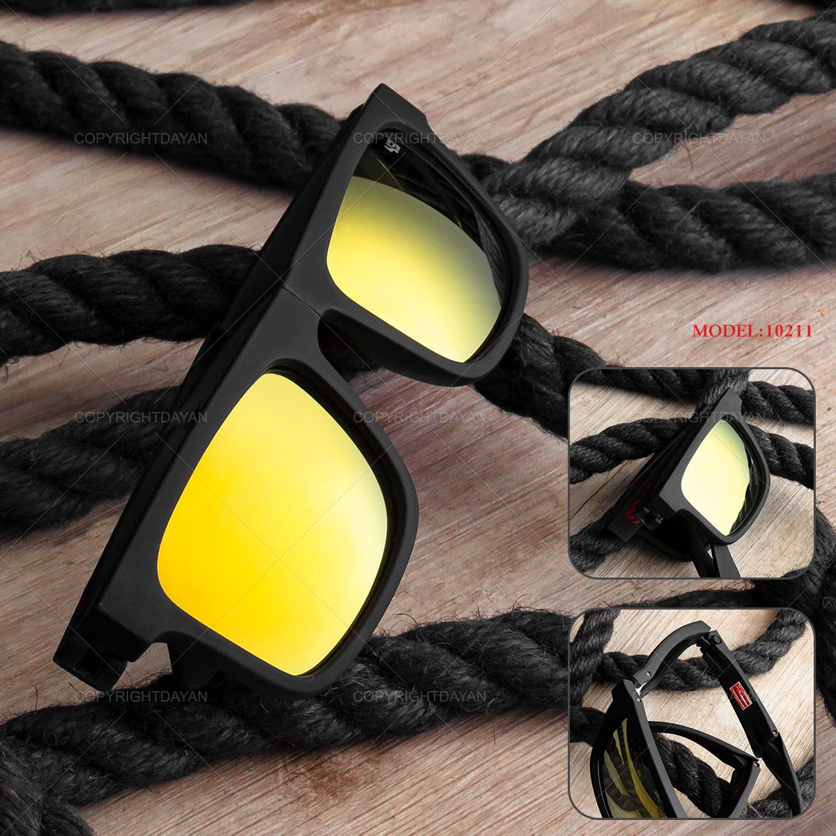 عینک آفتابی آیینه ای+Spy