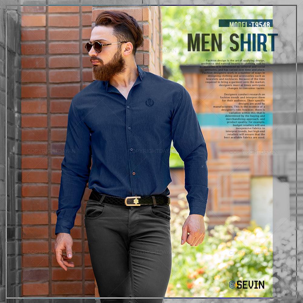 پیراهن مردانه Sevin