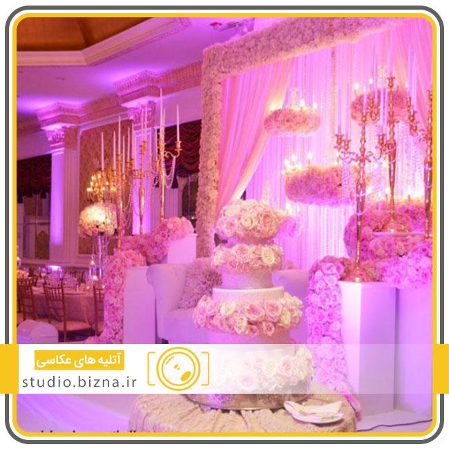 برگزاری مراسم عروسی در باغ تالار