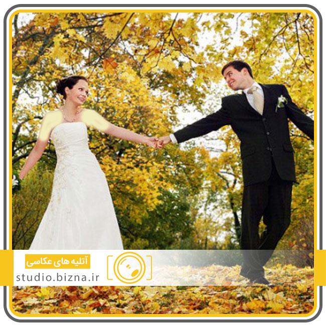 جشن عروسی در پاییز