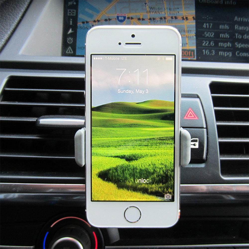 پایه نگهدارنده گوشی موبایل دریچه کولر 2 عددی CARMOUNT