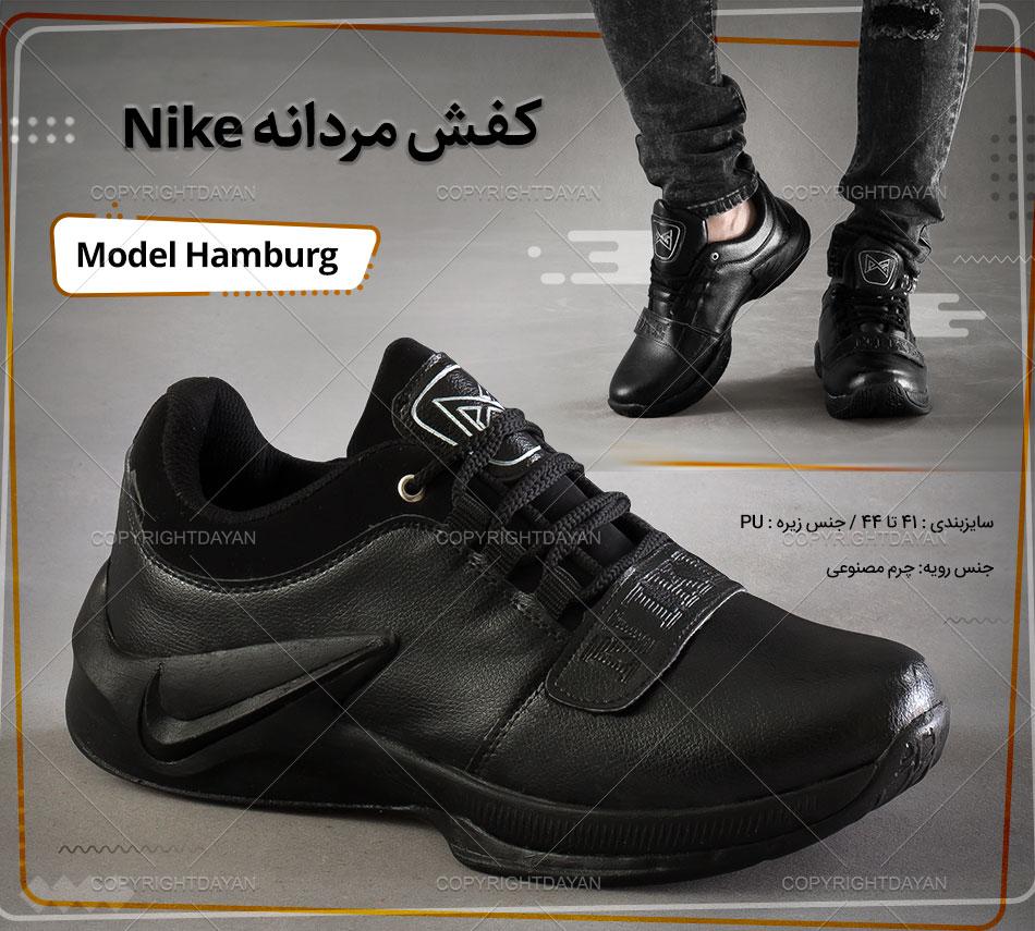 کفش مردانه Nike مدل Hamburg(مشکی)
