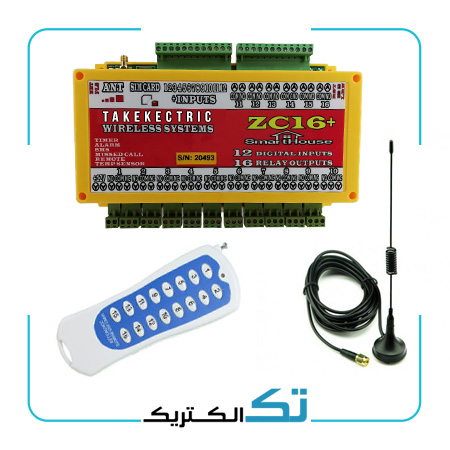 اس ام اس کنترل 16 خروجی +ZC16