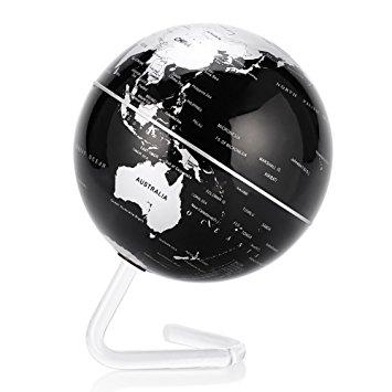 کره ی جهان اتوچرخشی و مغناطیسی