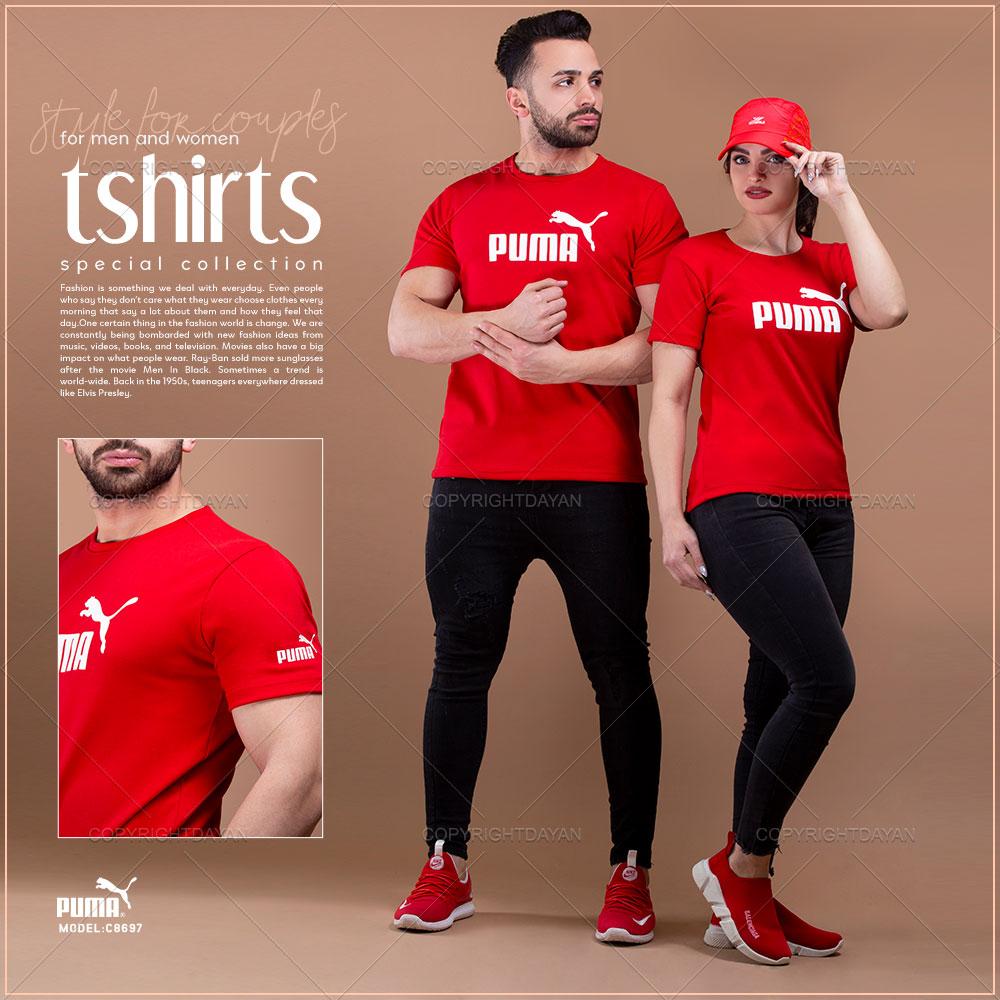 ست تیشرت مردانه و زنانه Puma