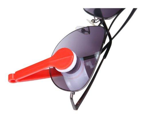 عینک پاک کن جادویی میکروفایبر 2 عددی