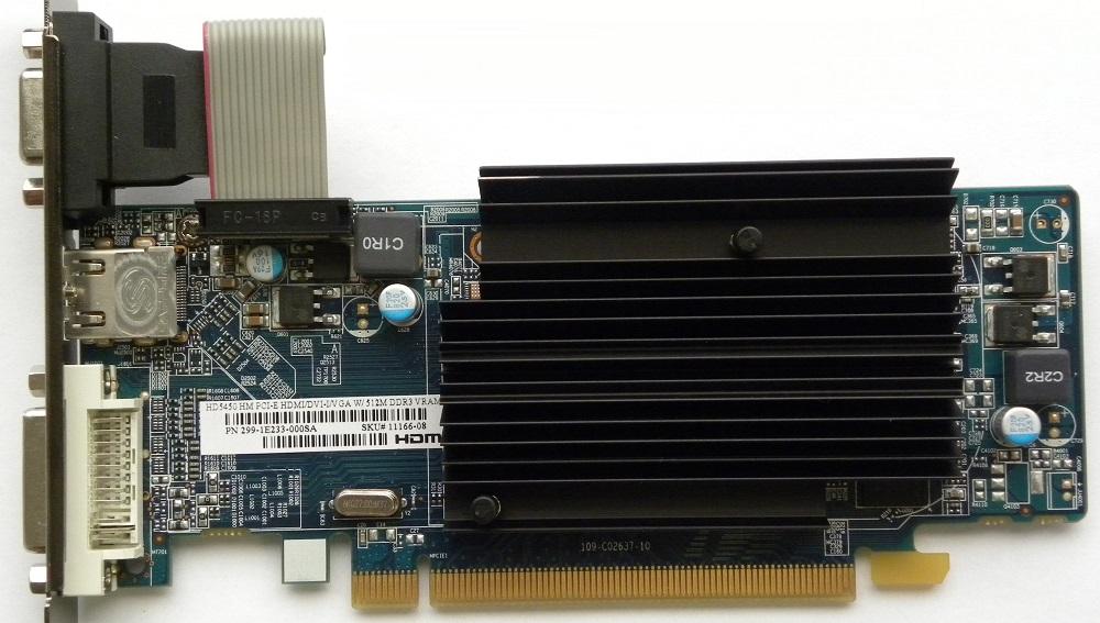 کارت گرافیک ATI Radeon 5450 DDR3 1GB  64bit HDMI