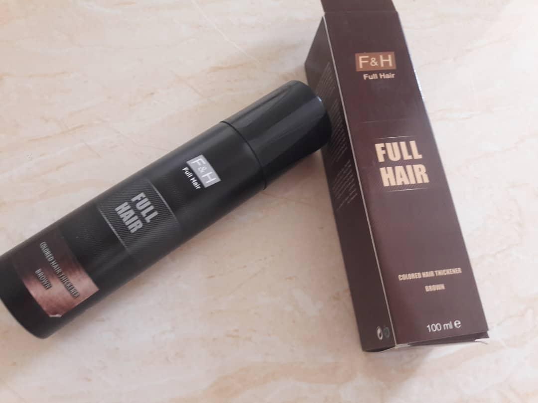 اسپری پرپشت کننده f&h|09190678478| بهترین اسپری حجم دهنده موی سر