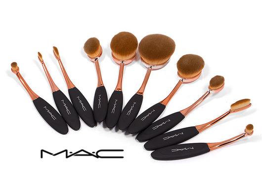 ست براش آرایش حرفه ای 10 تکه Mac