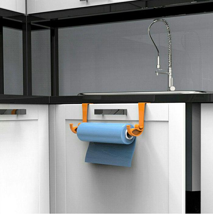 آویز حوله و دستمال کابینتی هومر  2 عددی