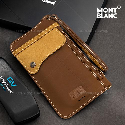 کیف چرم مونت بلانک