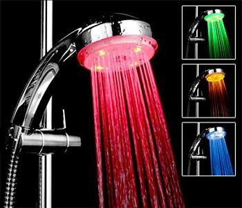 سر دوش LED حمام رنگی