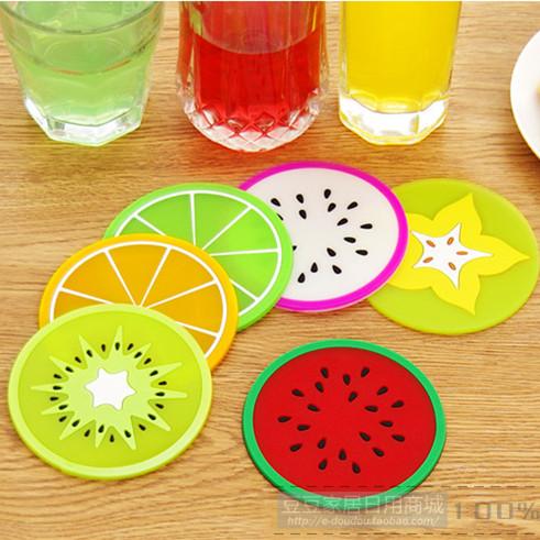 زیر لیوان میوه ای 6 عددی