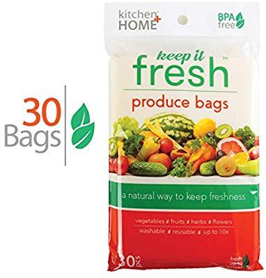 کیسه های تازه نگهدارنده مواد غدایی 2 عددی keep it fresh