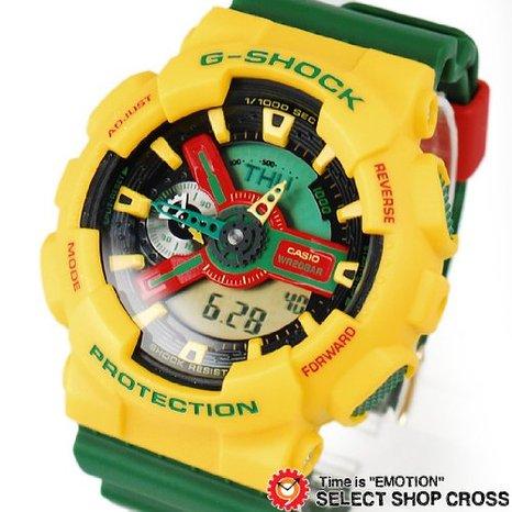 ساعت جی شاک جامائیکایی  G-shock Jamaica