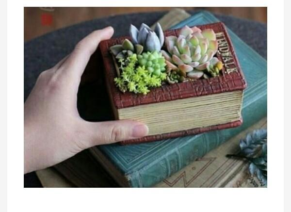گلدان کتابی