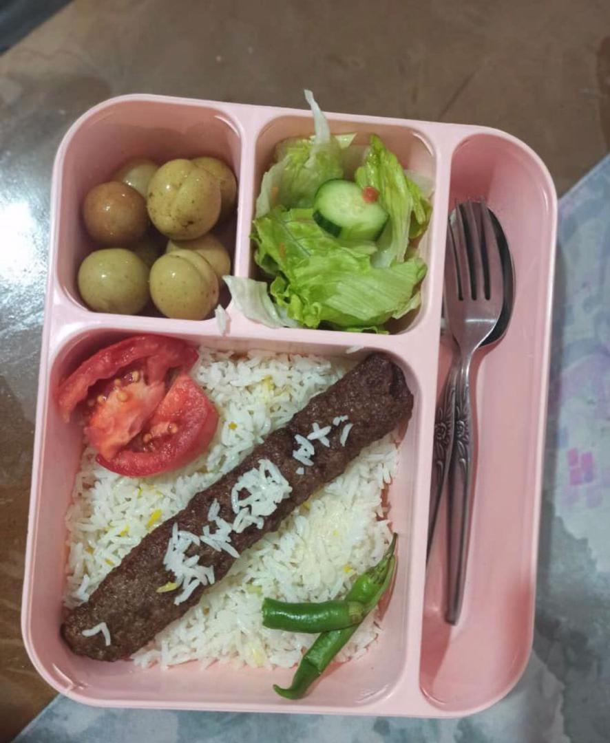 ظرف غذای چند کاربردی 4 خانه