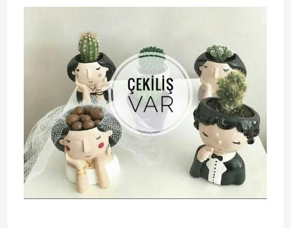گلدان عروس و داماد