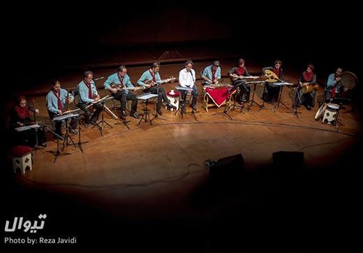 اجرای تالار رودکی گروه مهرساز