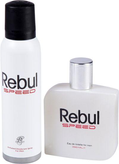 ست ادکلن و اسپری مردانه  REBUL SPEED